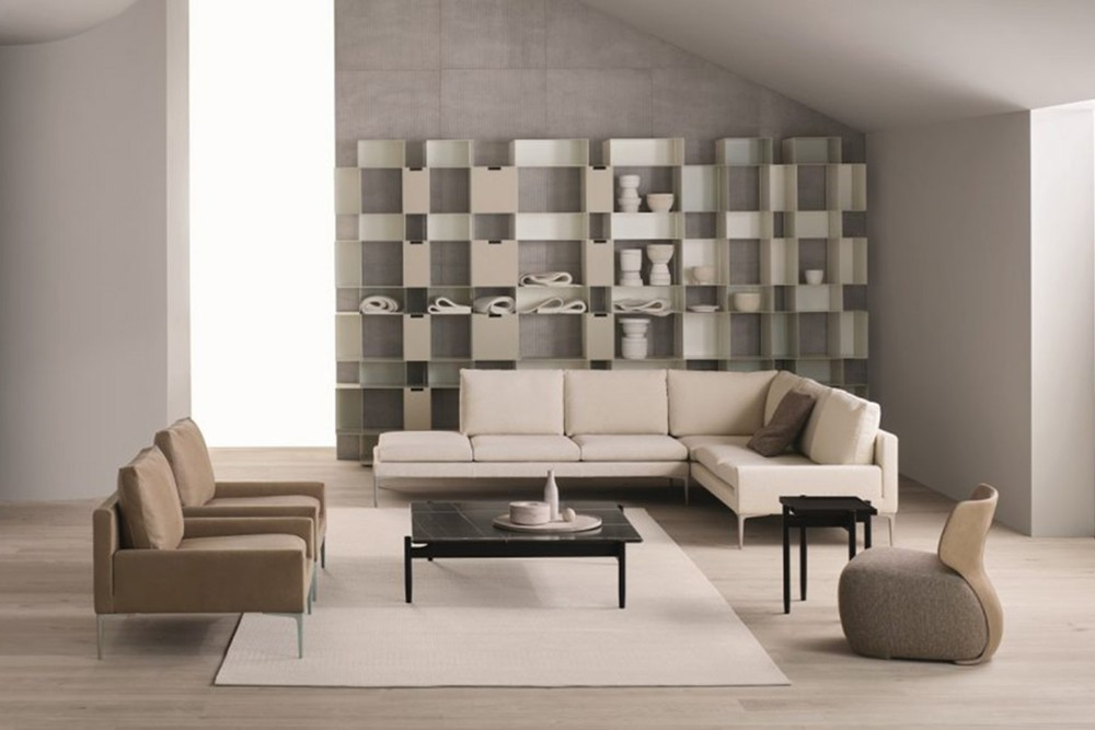 Noa 6 Noa 6.jpg Noa_ By Amura_ Designed by Stefano Bigi_Ergonomic back frame_Leather and fabric upholstery