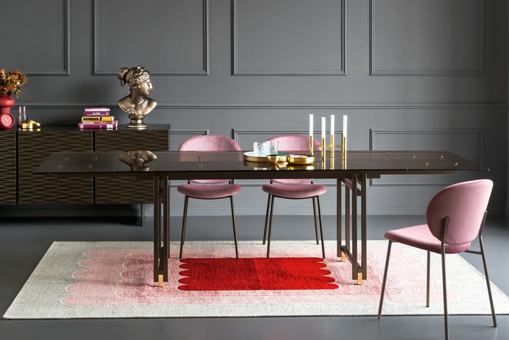 2019 berlin cs4119 xr p29l gtb cs2004 s0u cs6051 1 7212.jpg Berlin Dining table_Designers: Archirivolto_Dondoli and Pocci_Minimilist Design_Extendable_Made in Italy_By Calligaris 2019 berlin cs4119 xr p29l gtb cs2004 s0u cs6051 1 7212.jpg