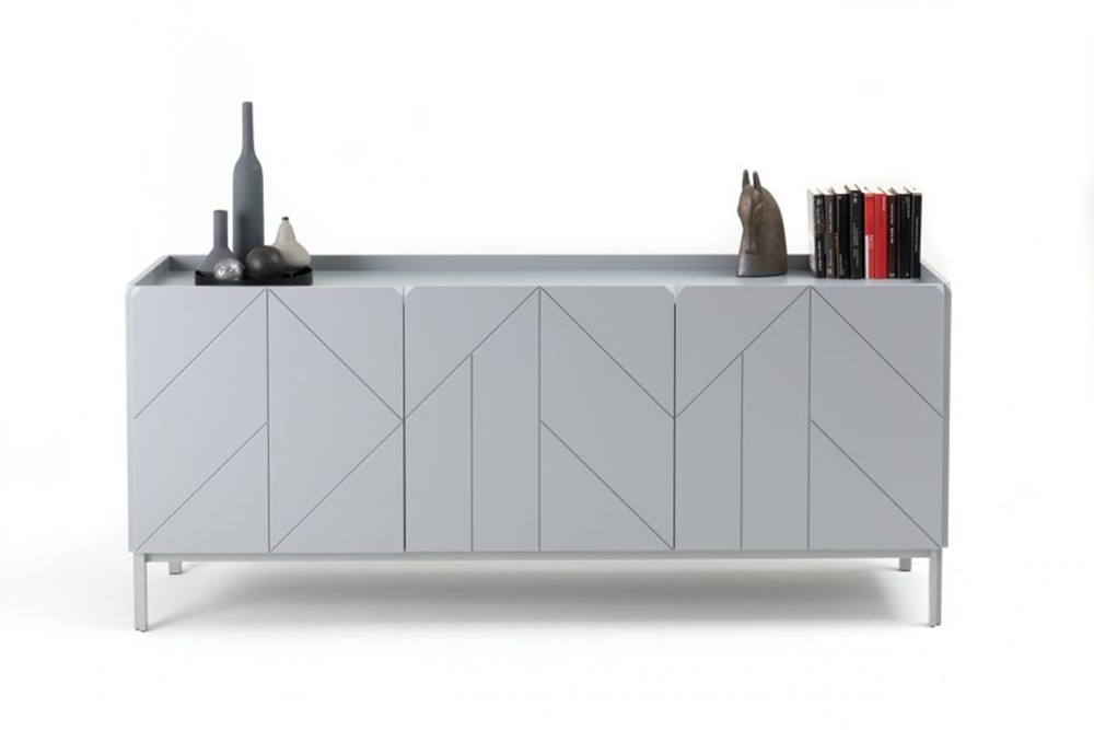 Pica%202.jpg Pica sideboard _Bontempi casa_Wooden sideboard with two hinged doors, inside clear glass shelf, side panels and doors in veneer wood, top to choose. Frame and feet in lacquered metal. Pica%202.jpg