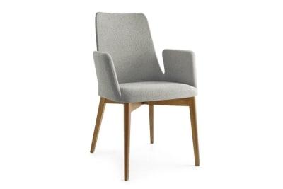 Etoile Carver Chair - Walnut - Denver Cord