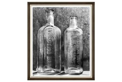 Vintage Bottles Iii