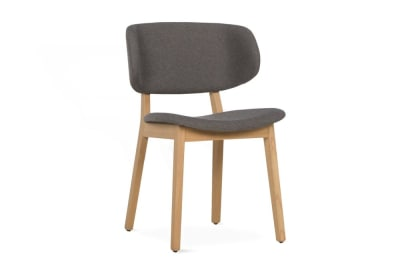 Claire Dining Chair Denver Taupe Fabric Oak  Claire Dining Chair SKUs Various