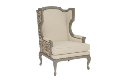 Talbot Wing Chair Talbot Wing Chair Fabric B1302  Bernhardt New Product December 2016