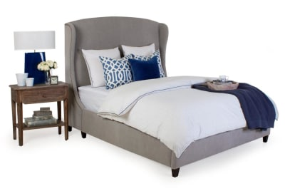 Holiday Upholstered Bed - Queen Size