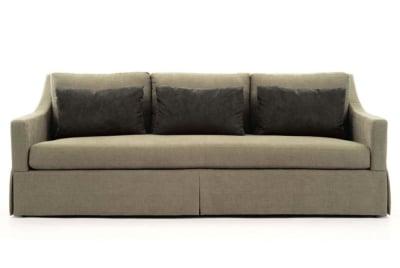 Albion Sofa:  Caramel Fabric