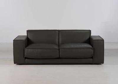 Bloc 2 Seater in Lamon Grey