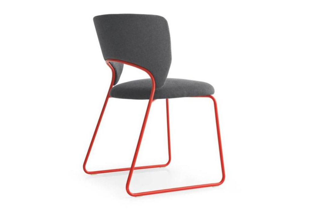 duffy dining chair red angle  Calligaris product shots   Match, Duffy