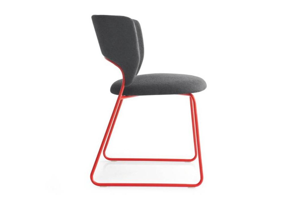 duffy dining chair red side  Calligaris product shots   Match, Duffy