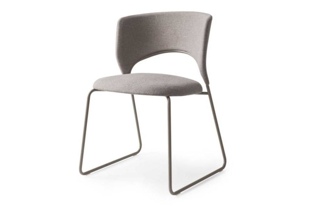 duffy dining chair taupe front  Calligaris product shots   Match, Duffy