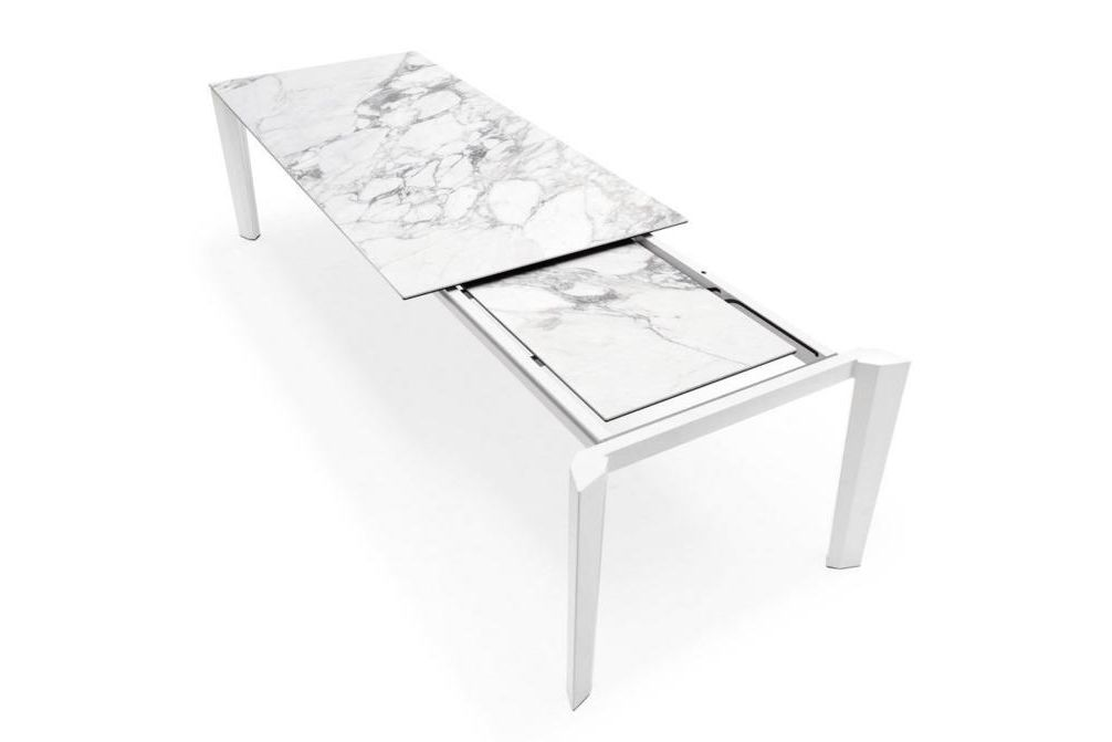 Delta Marble Extension  Delta Dining Table  Marble Top Extension