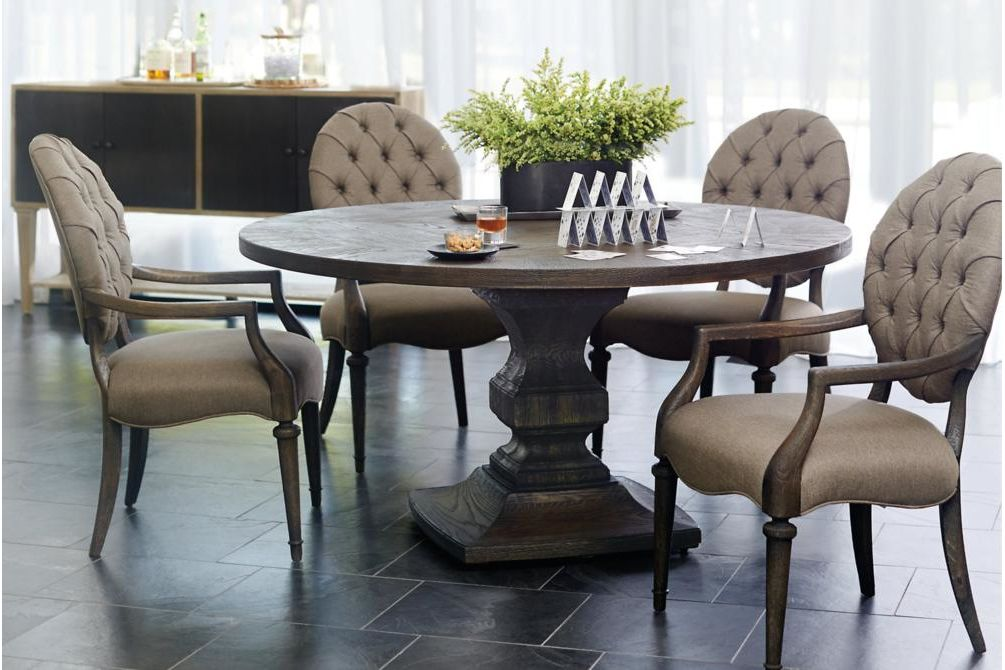 Setting Antiquarian Table Chairs  Bernhardt New Product February 2016