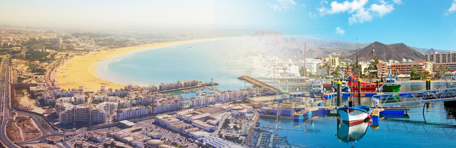 Séjours combinés à Tenerife & Agadir