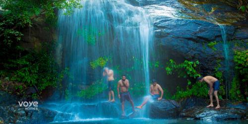 Waterfalls in Munnar