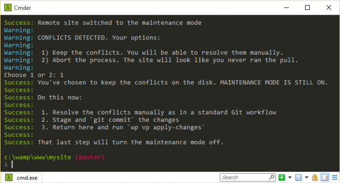 staging-14-keep-conflict-option