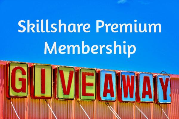 Skillshare Premium Membership Giveaway