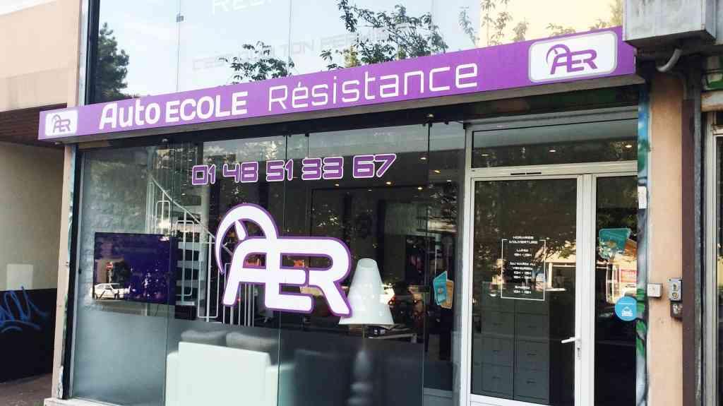 Auto-école Résistance - Montreuil-sous-Bois
