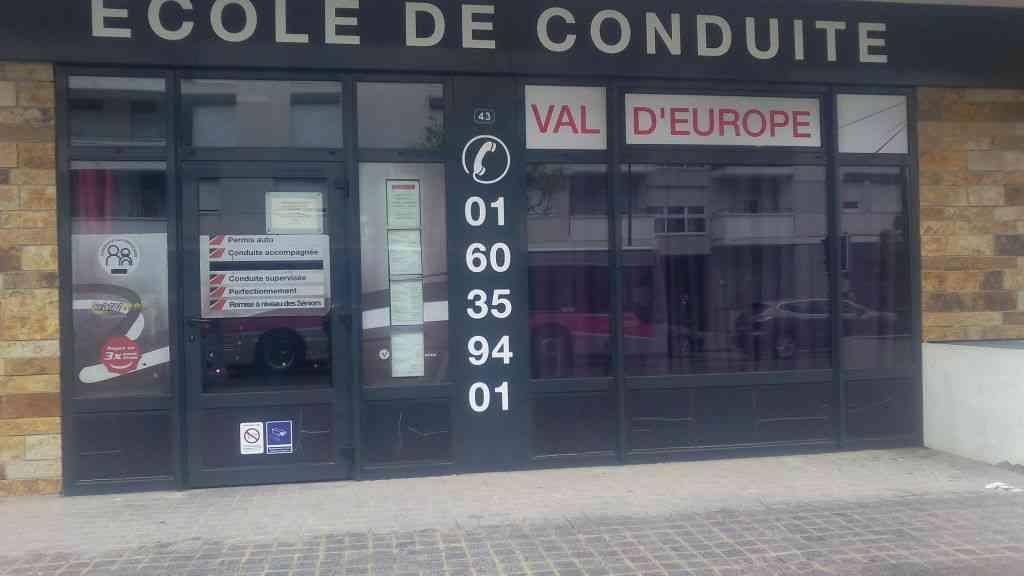 Auto-école Val d'Europe - Montévrain
