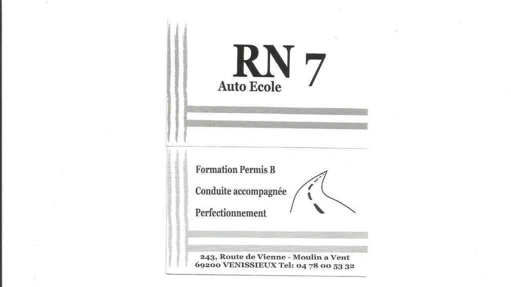 Auto-école RN7 - Vénissieux