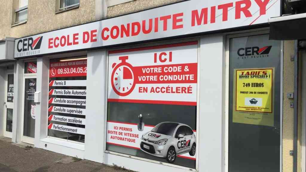 L'As de la conduite - Mitry-Mory
