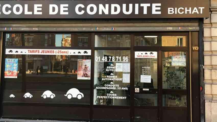 École de conduite Bichat - PARIS