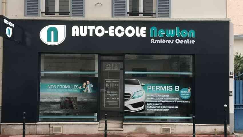 Auto-école Newton Asnières Centre - Asnières-sur-Seine