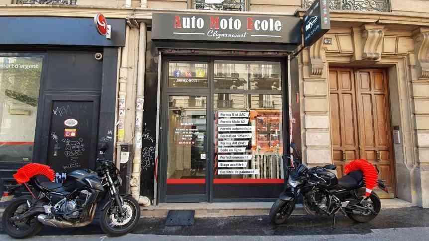 Auto-moto-école Clignancourt - Paris