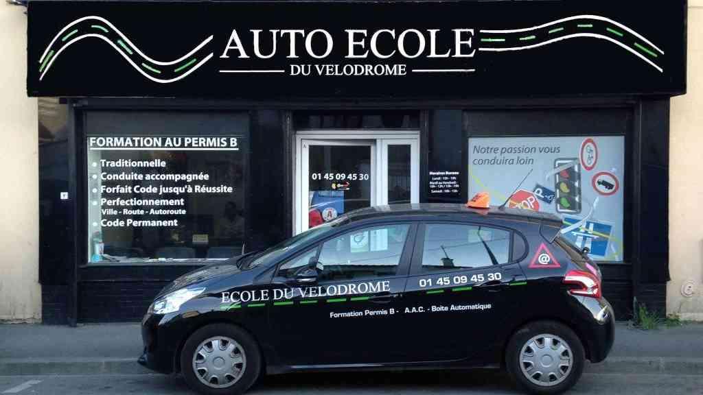 Auto-école du Vélodrome - Aulnay-sous-Bois