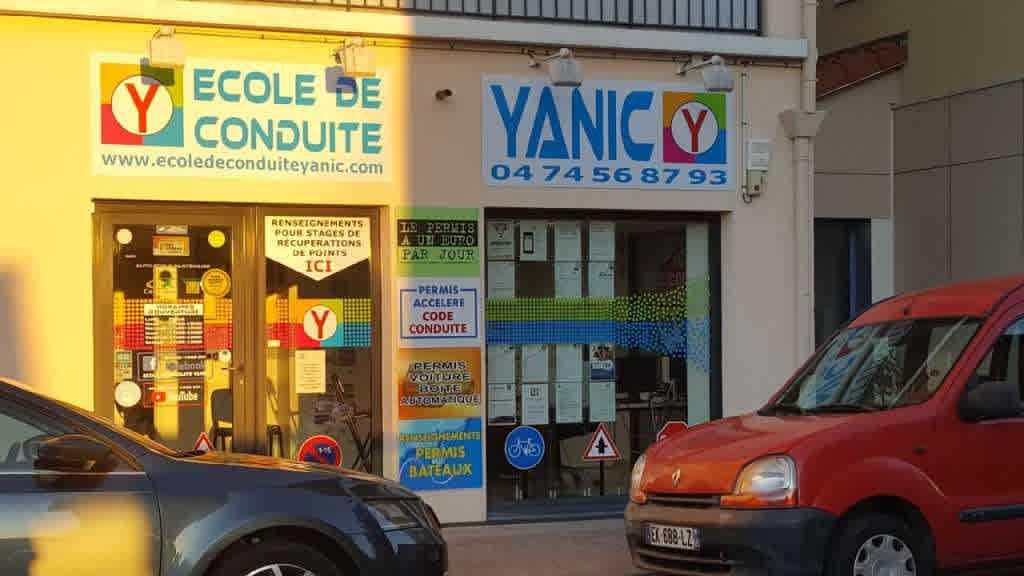 École de conduite Yanic - SEPTÈME