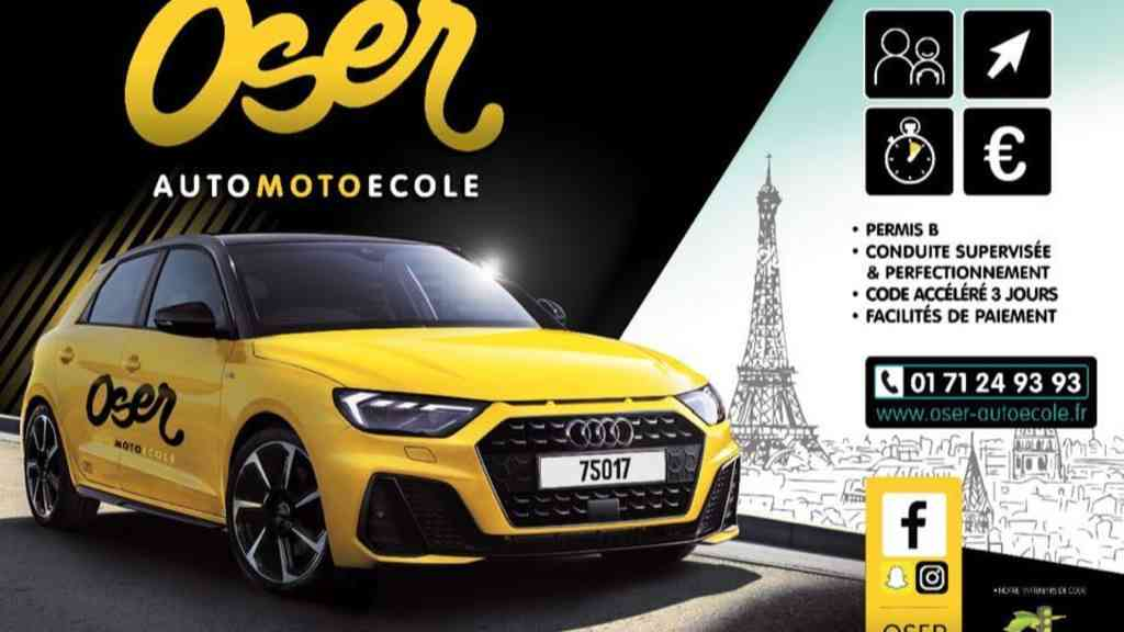 Oser Auto-moto-école - PARIS