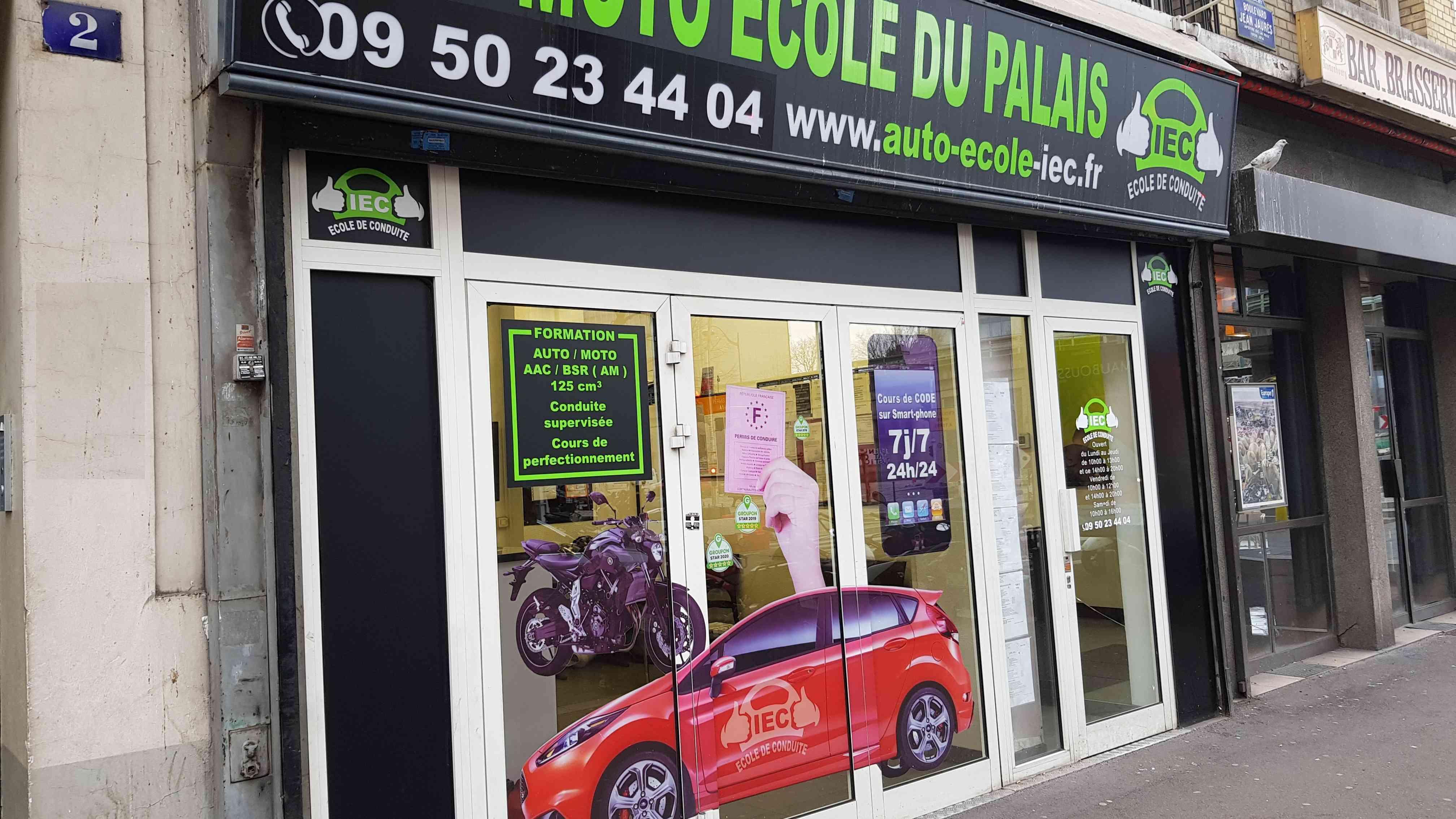 Auto-école IEC - Clichy-la-Garenne