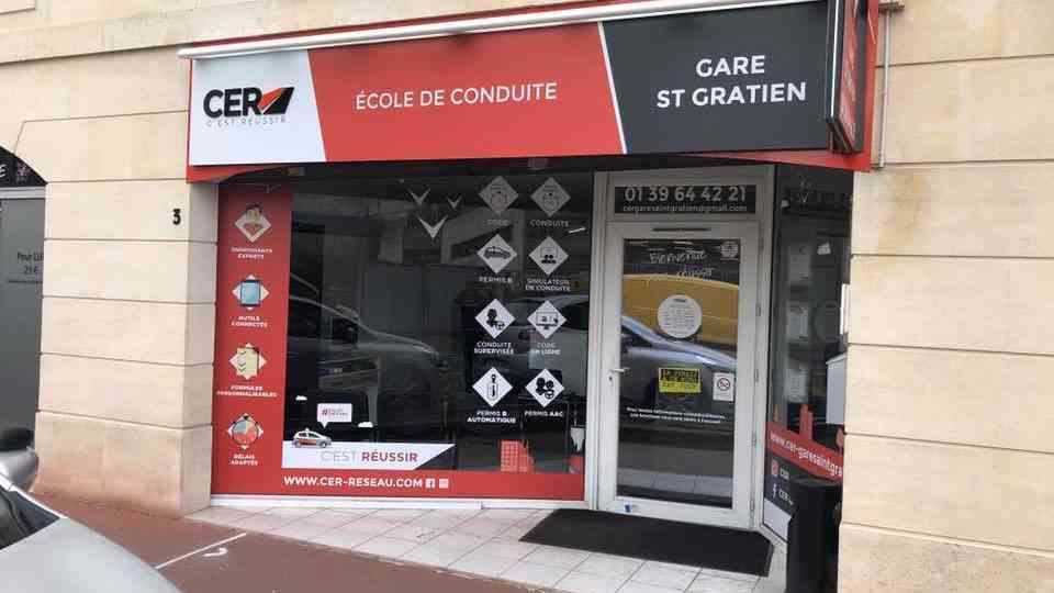 CER Gare Saint-Gratien - Saint-Gratien