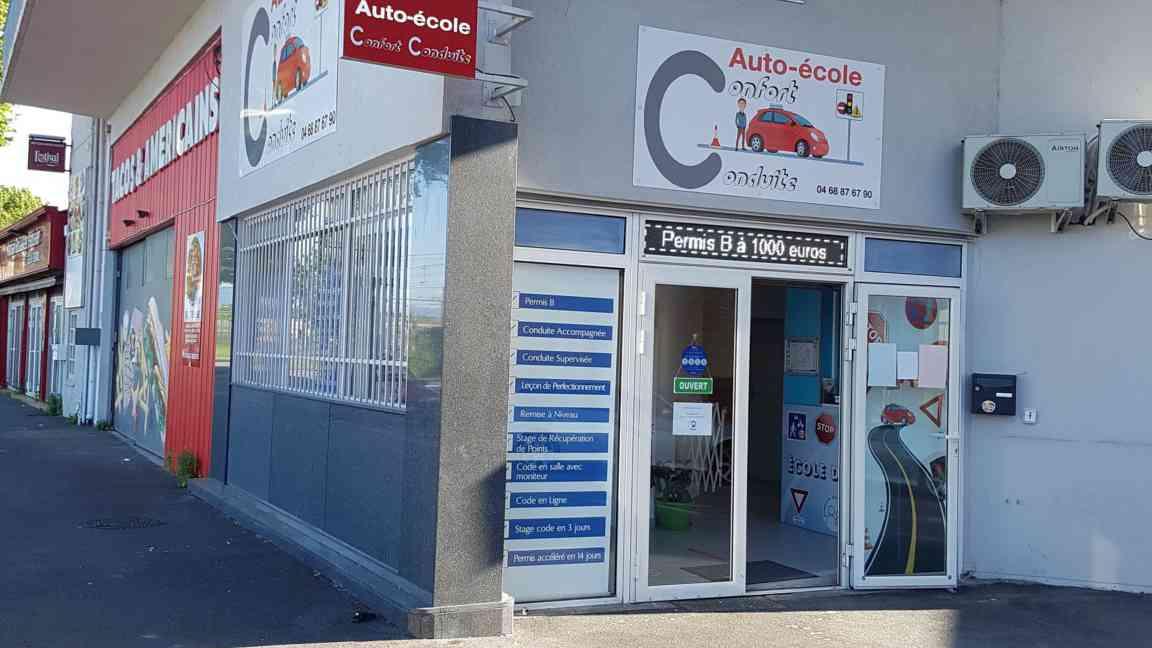 Auto-école Confort Conduite - Perpignan