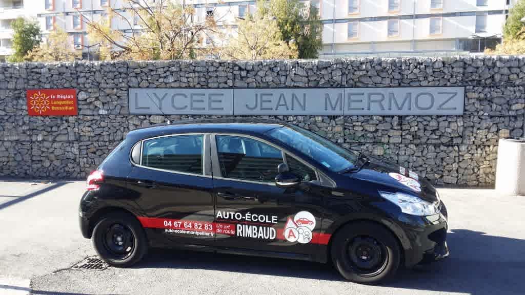 Auto-école Rimbaud - Montpellier