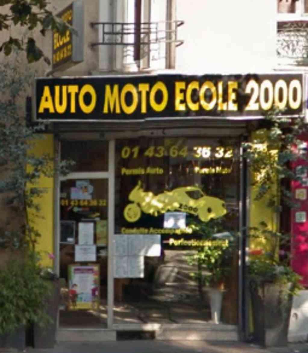 Auto-moto-école 2000 - PARIS