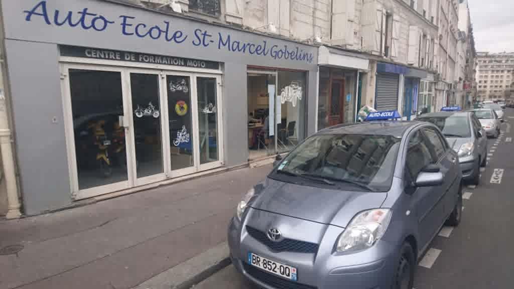 Auto-école Saint-Marcel Gobelins - Paris