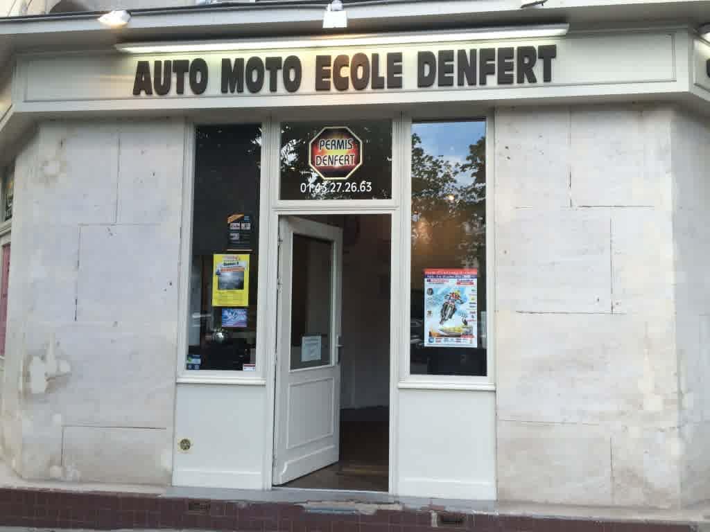Auto-école Denfert - PARIS