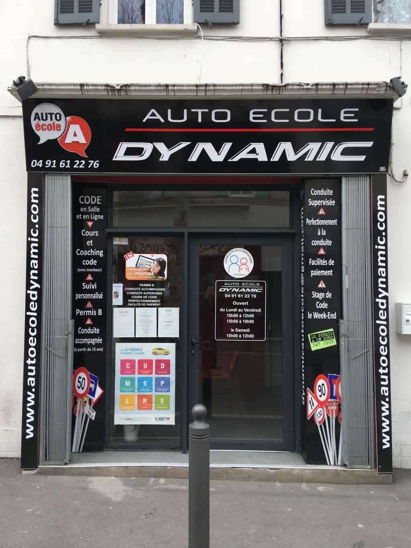 Auto-école Dynamic - MARSEILLE