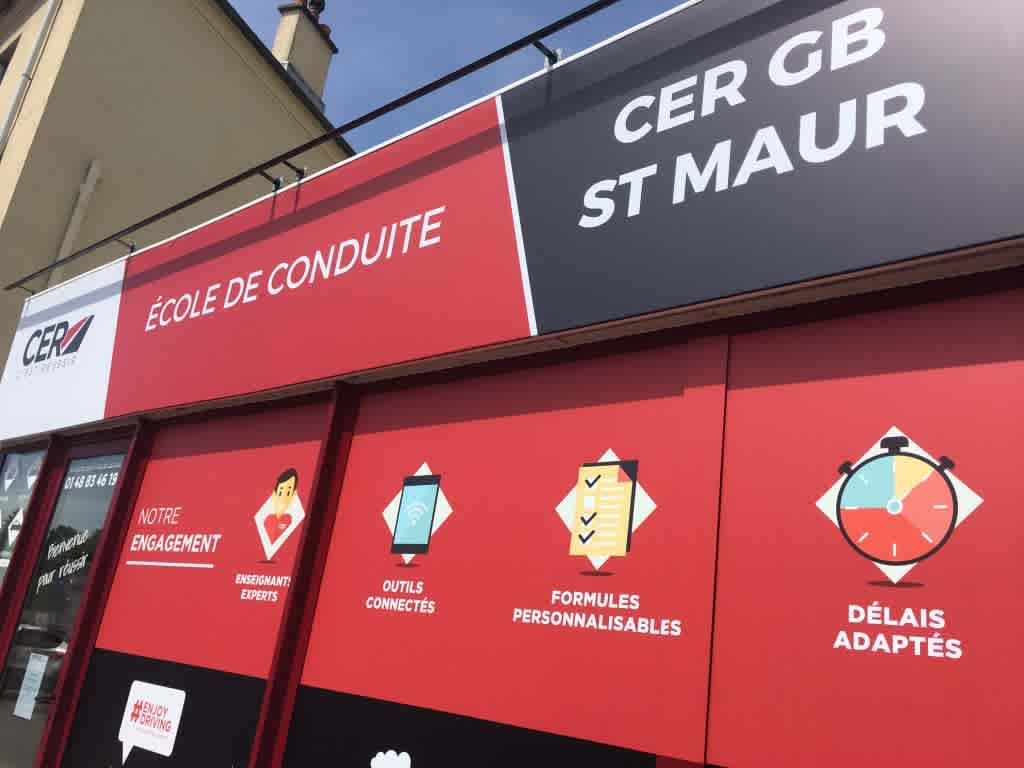 CER GB - SAINT-MAUR DES FOSSÉS