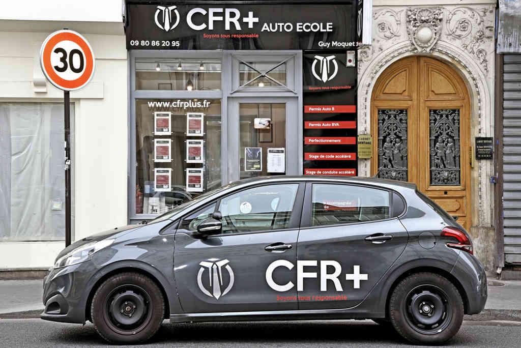 Auto-école CFR+ - Paris