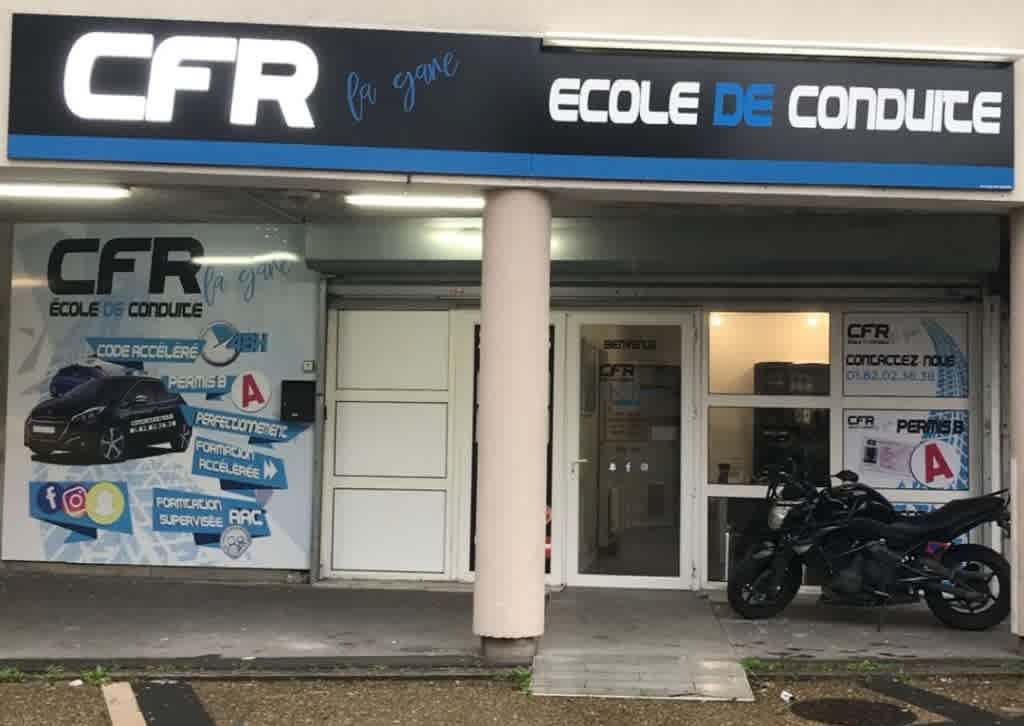École de conduite CFR La Gare - LA COURNEUVE