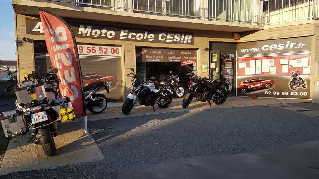 Auto-moto-école CESIR - SAINT-MALO