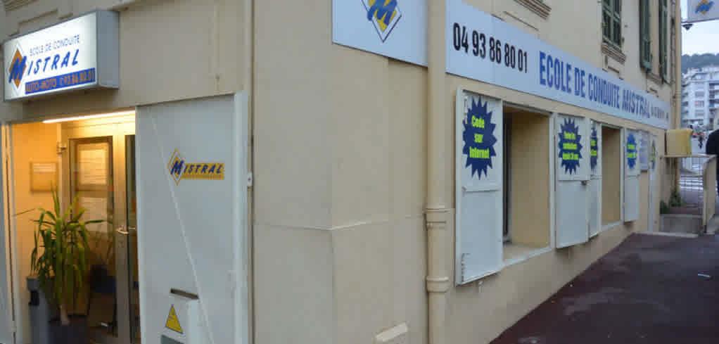 Auto-école Mistral - Nice