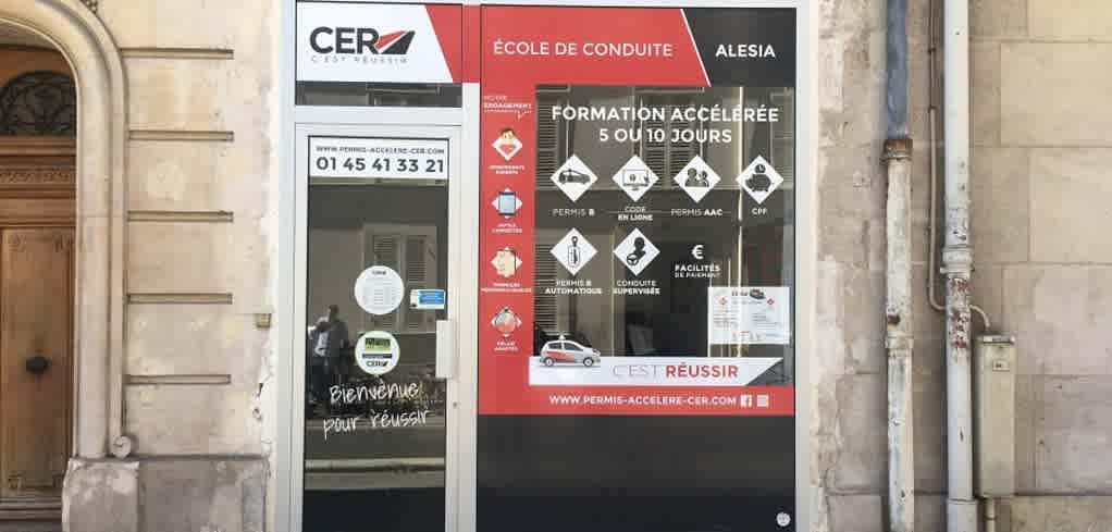 CER Alésia - PARIS