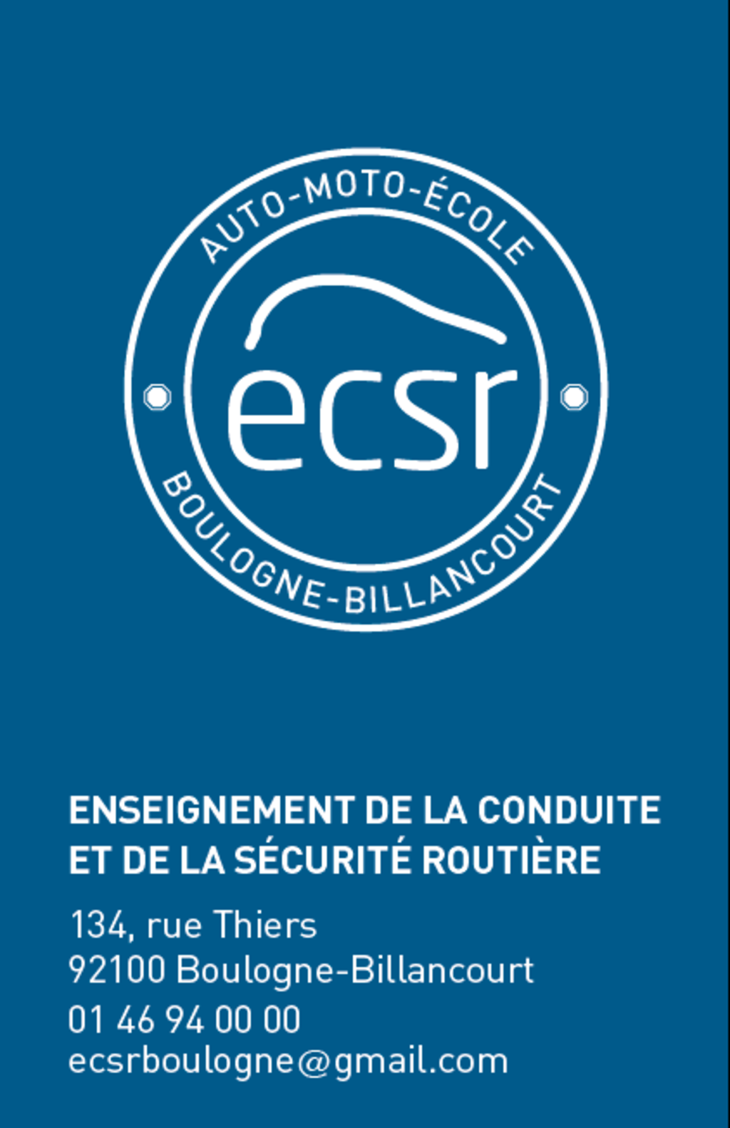 ECSR Boulogne - BOULOGNE-BILLANCOURT