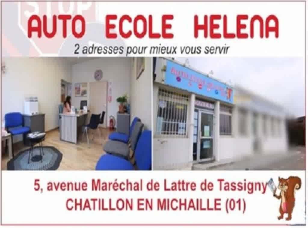 Auto-école Helena 01 - Châtillon-en-Michaille