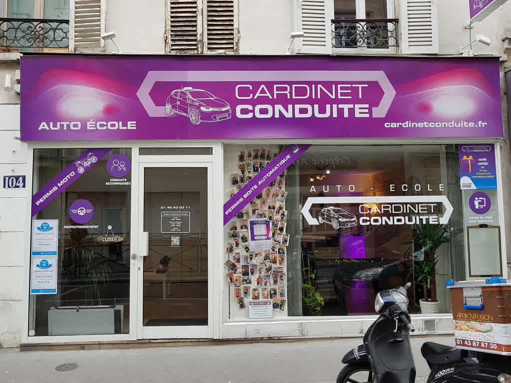 Cardinet Conduite - Paris