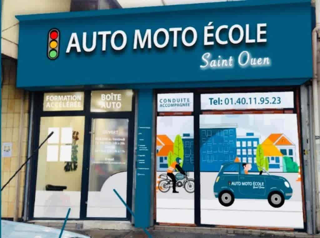 Auto-moto-école Saint-Ouen - SAINT-OUEN
