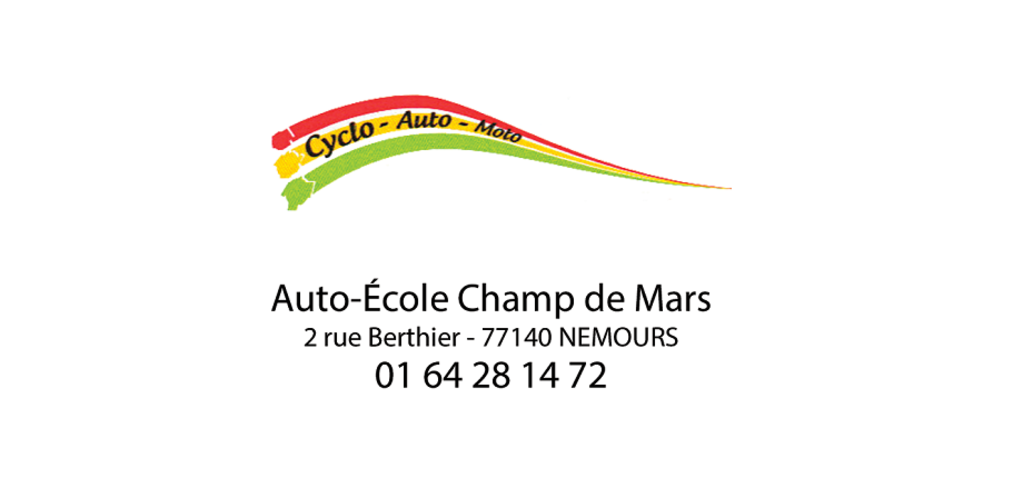 Auto-école du Champs de Mars - Nemours
