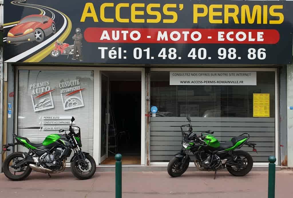 Access' Permis - Romainville