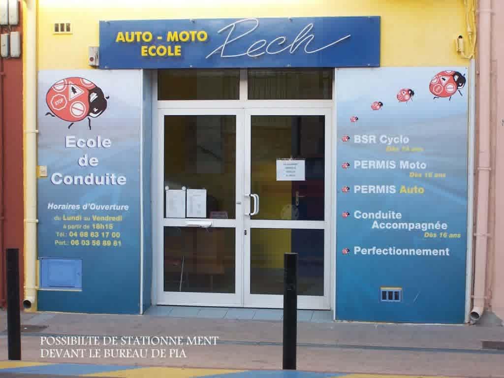 Auto-école Pech - Pia